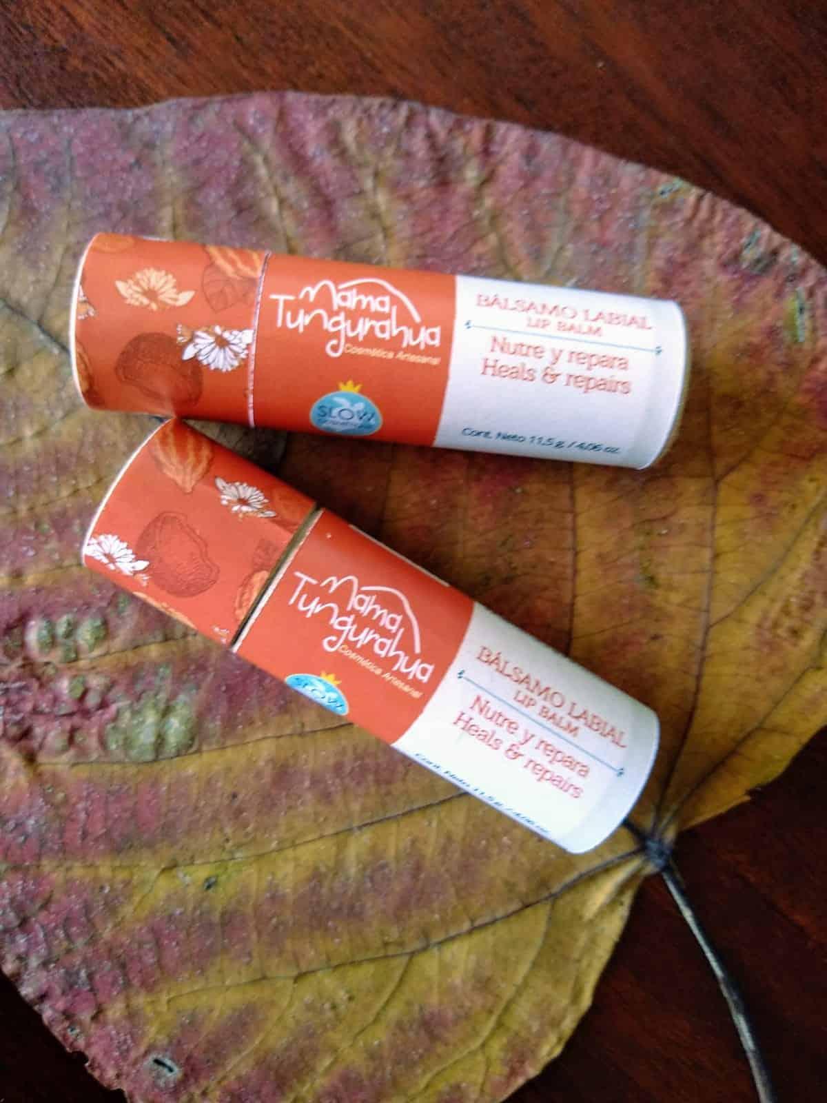 Lip balm / compostable tube